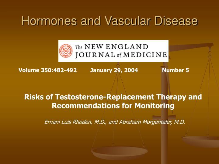 Hormones and Vascular Disease
