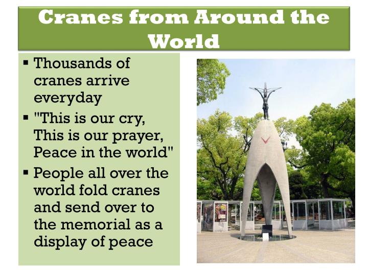 Cranes from Around the World