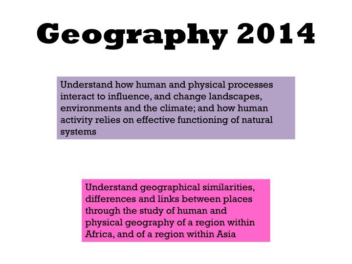 Geography 2014