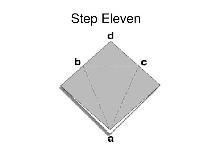 Step Eleven