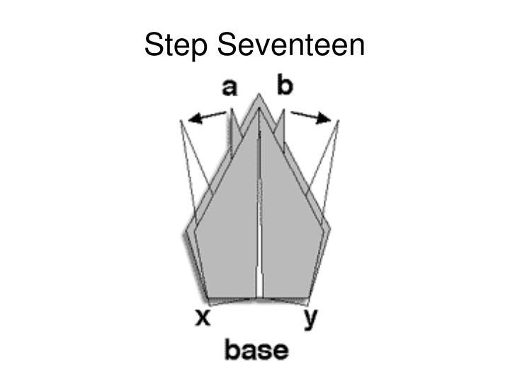Step Seventeen