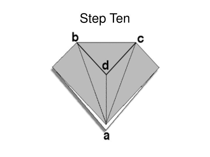 Step Ten