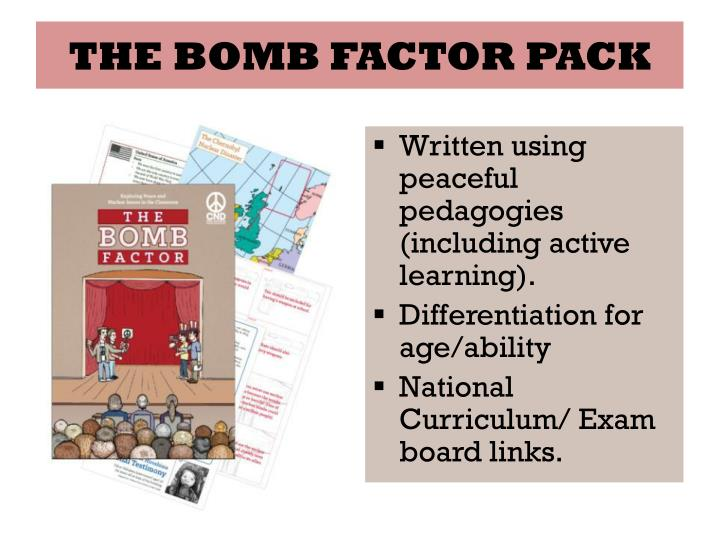 THE BOMB FACTOR PACK