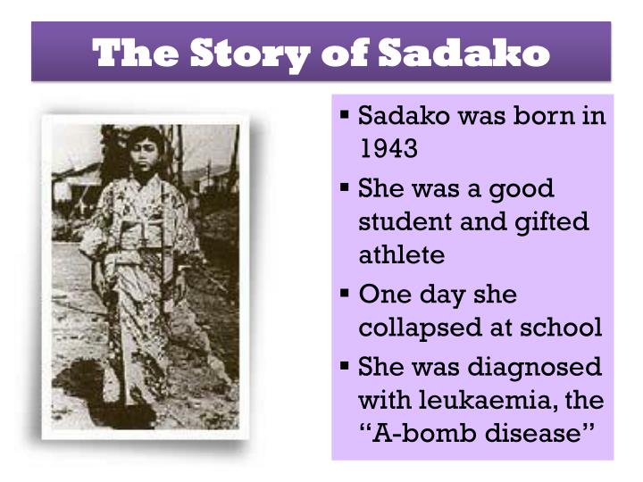 The Story of Sadako