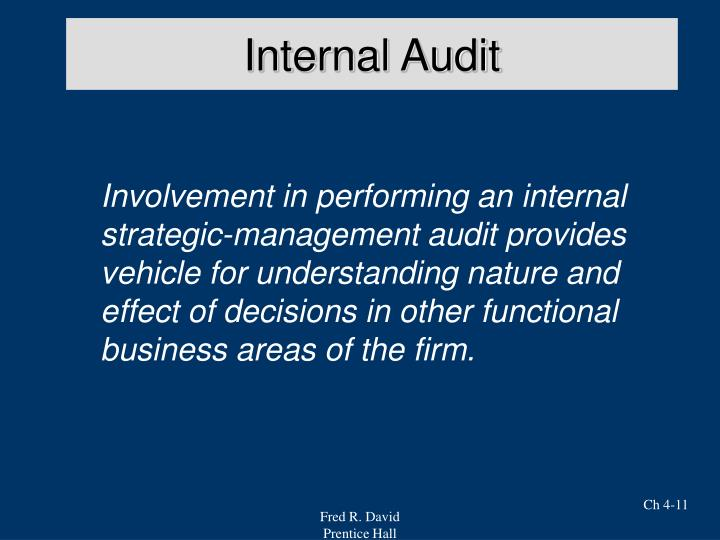 Internal Audit