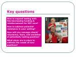 key questions1