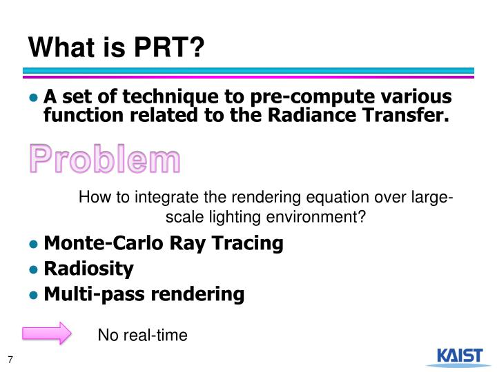 What is PRT?