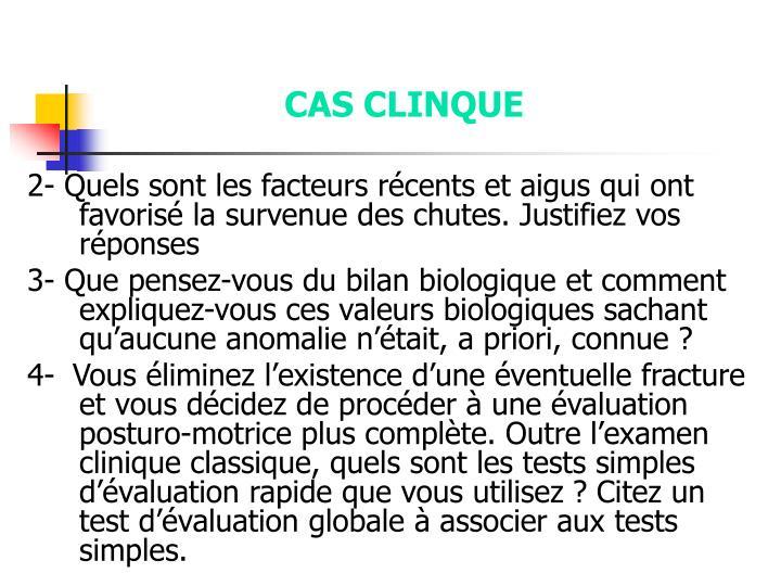 CAS CLINQUE