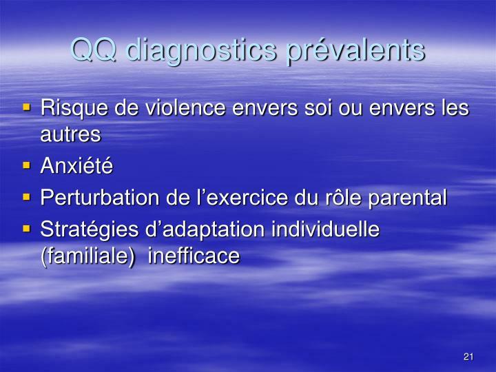 QQ diagnostics prévalents