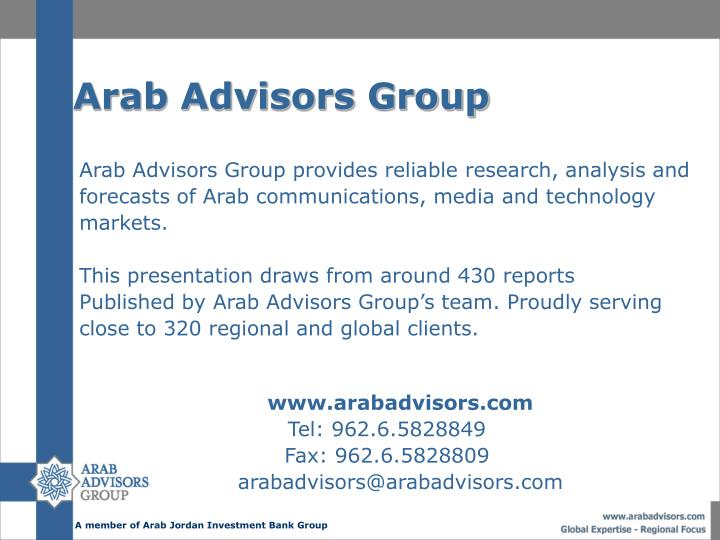Arab Advisors Group