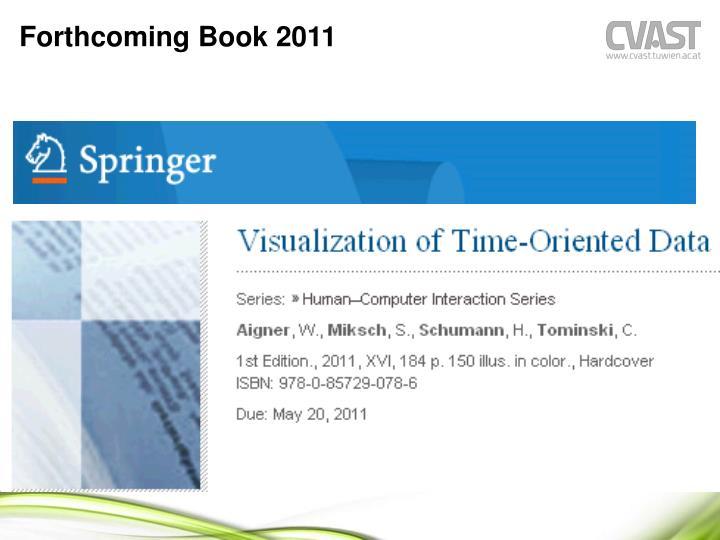 Forthcoming Book 2011