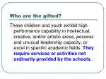 who are the gifted1
