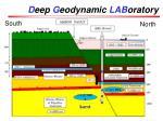 d eep g eodynamic lab oratory