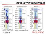 heat flow measurement