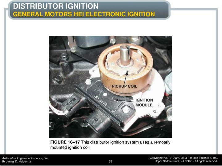 Ppt - Chapter 16 Ignition System Components And Operation Powerpoint Presentation