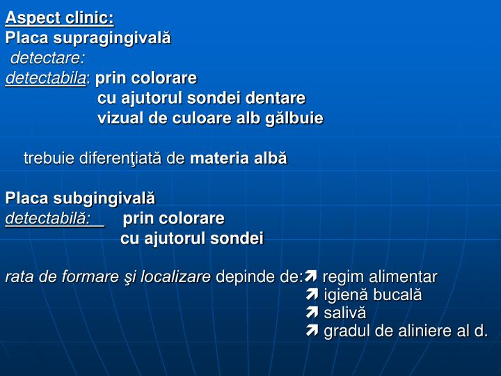 Aspect clinic: