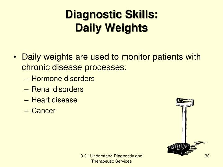 Diagnostic Skills: