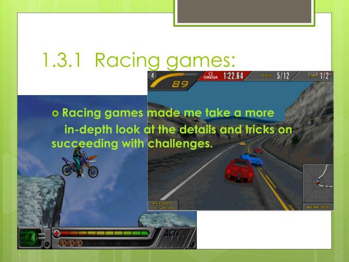 1.3.1  Racing