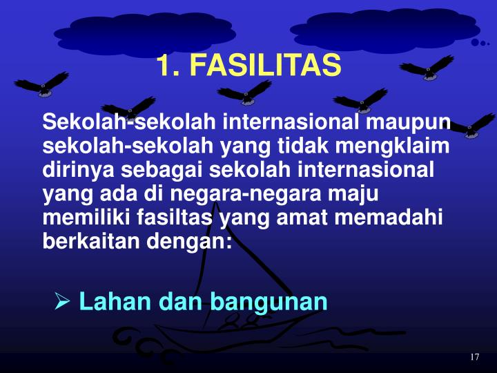 1. FASILITAS