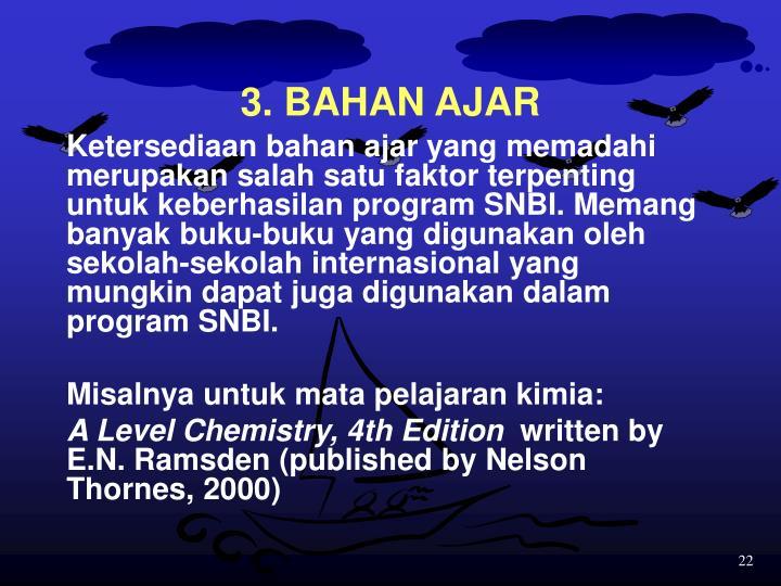 3. BAHAN AJAR