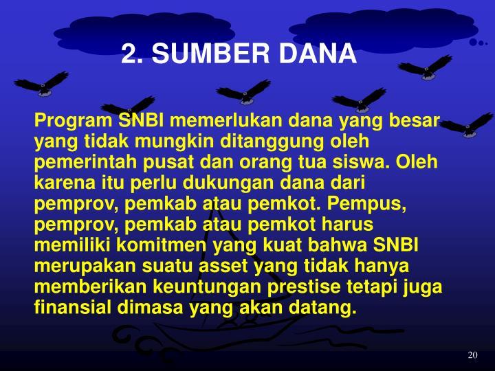 2. SUMBER DANA