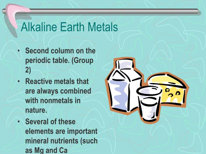 Alkaline Earth Metals