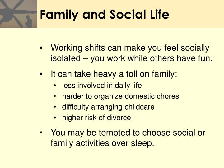 Family and Social Life