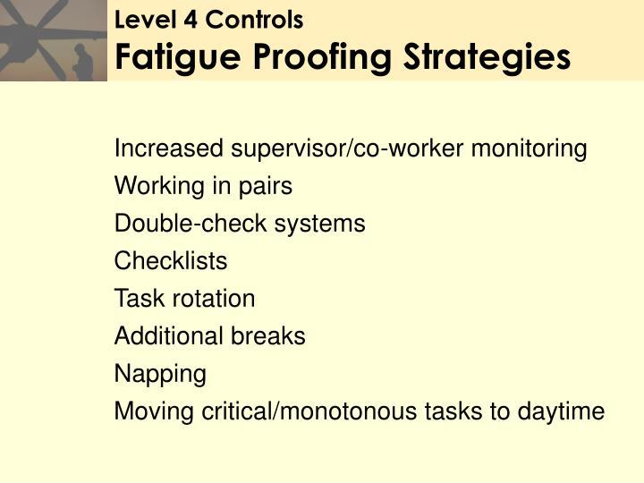 Level 4 Controls
