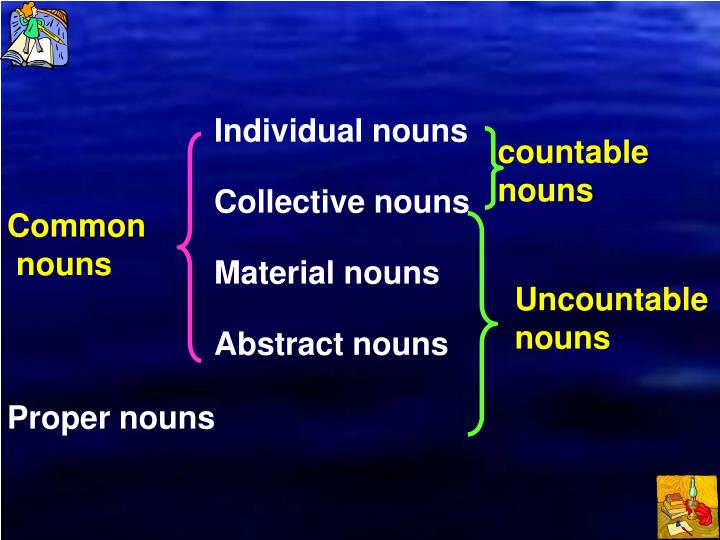 Individual nouns