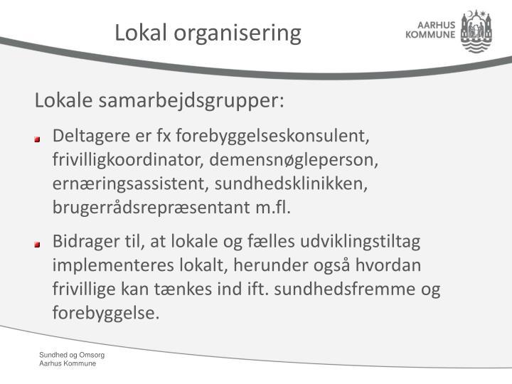 Lokal organisering