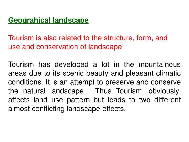Geograhical landscape