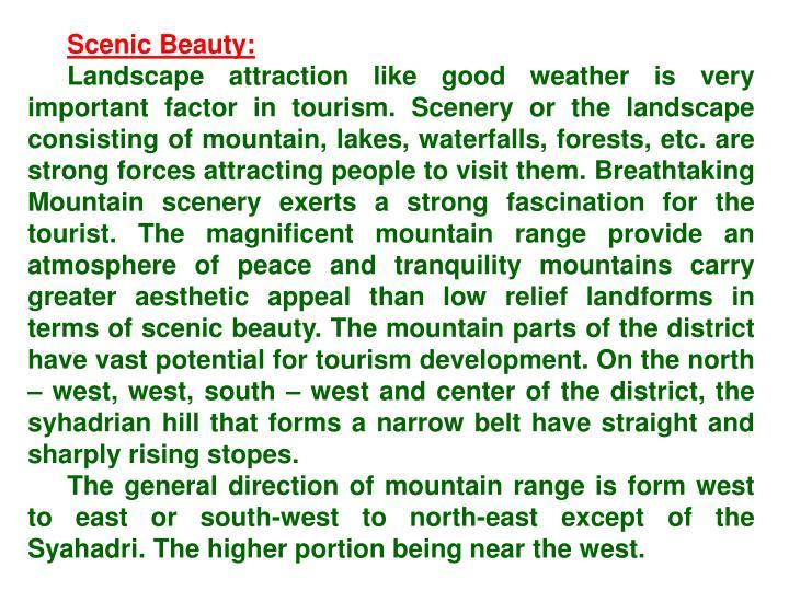 Scenic Beauty: