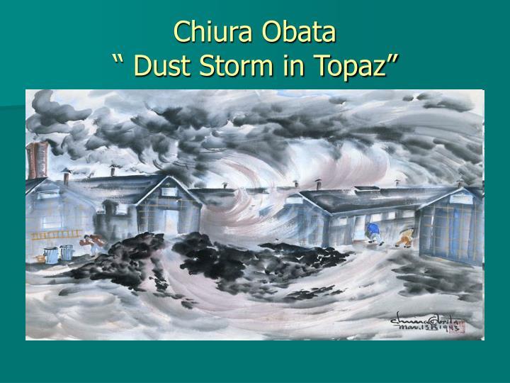 Chiura Obata