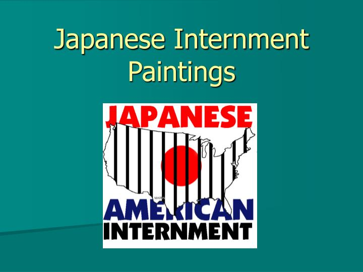 Japanese internment paintings