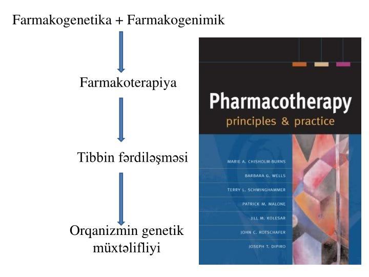 Farmakogenetika + Farmakogenimik