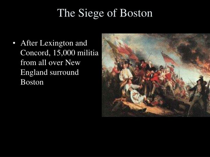 The Siege of Boston