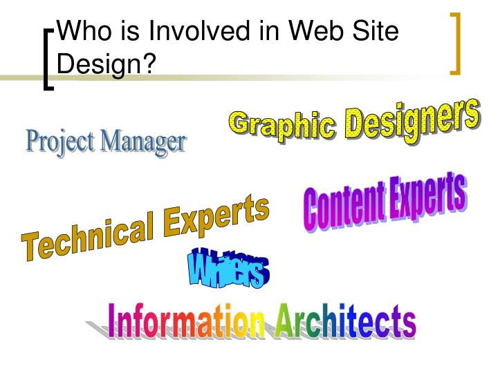 Who is Involved in Web Site Design?