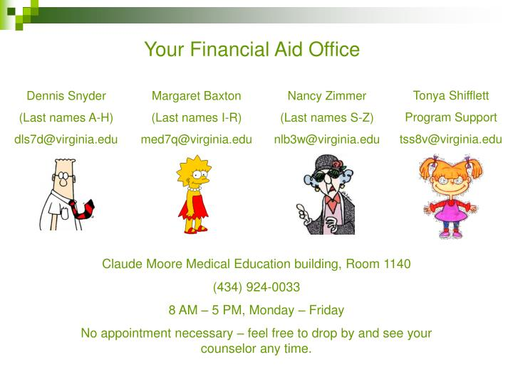 Your Financial Aid Office