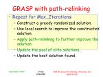 grasp with path relinking1