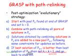 grasp with path relinking7