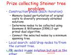 prize collecting steiner tree problem1