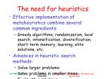 the need for heuristics6