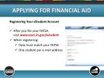 applying for financial aid11