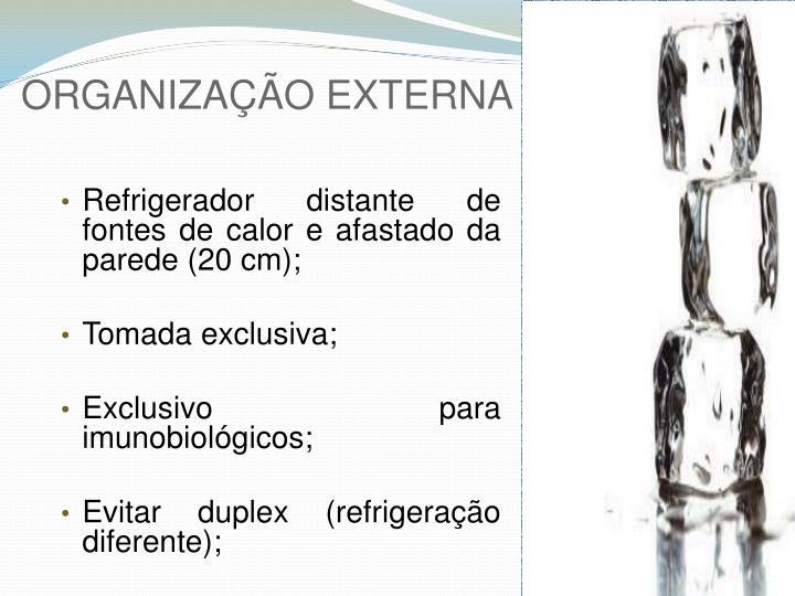 ORGANIZAÇÃO EXTERNA