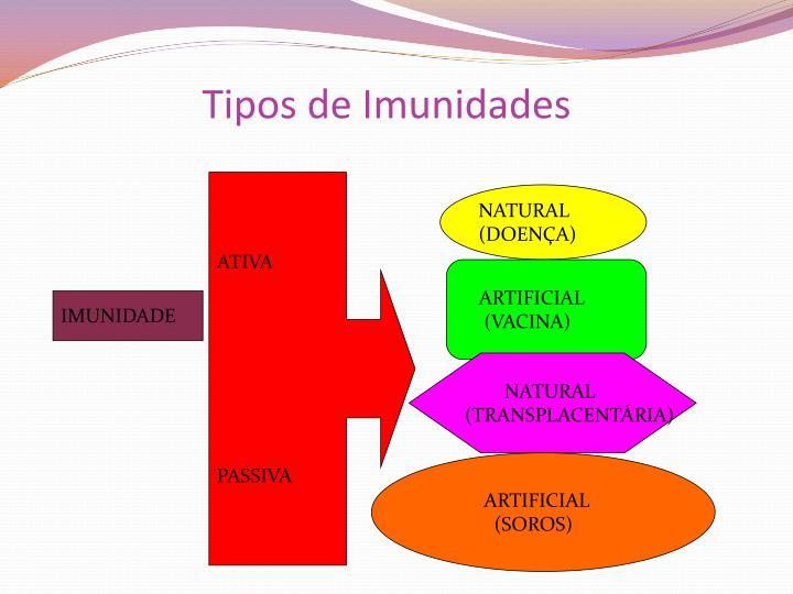 Tipos de Imunidades