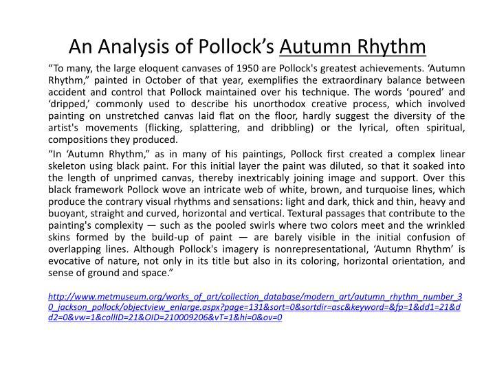 An Analysis of Pollock's