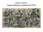 jackson pollock autumn rhythm number 30 1950