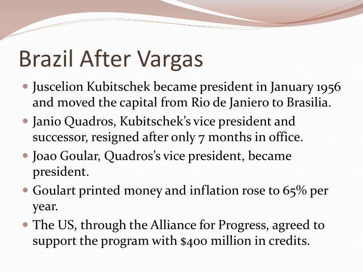 Brazil After Vargas