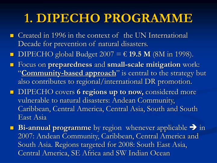 1. DIPECHO