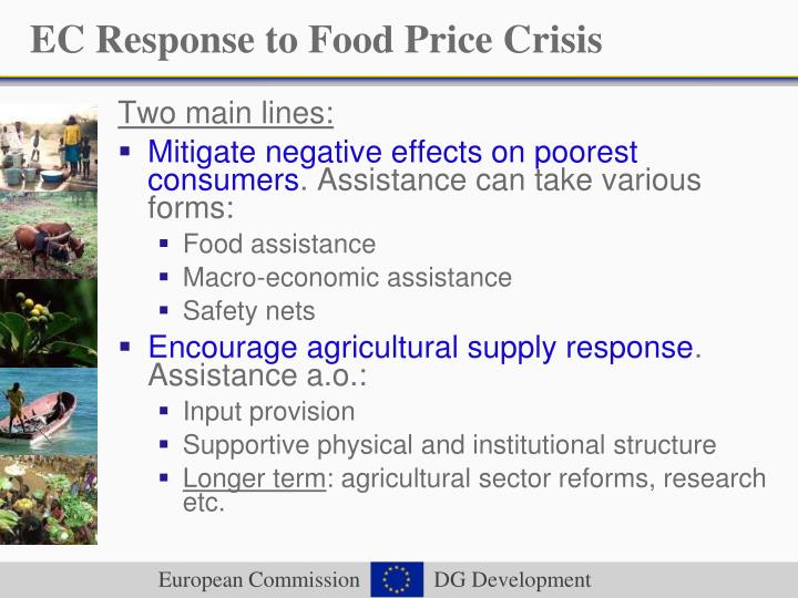 EC Response to Food Price Crisis